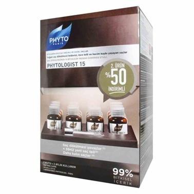 PHYTO  logist 15 Anti Hairloss DUO Set 24x3,5ml Renksiz